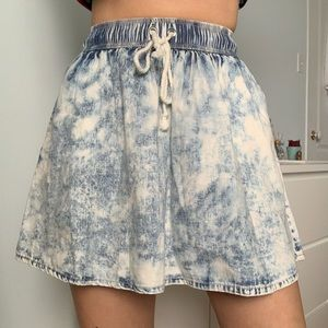Sparkle & Fade Urban Outfitters Acid Wash Skirt
